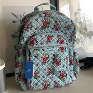 Vera Bradley campus backpack Water Bouquet 💐